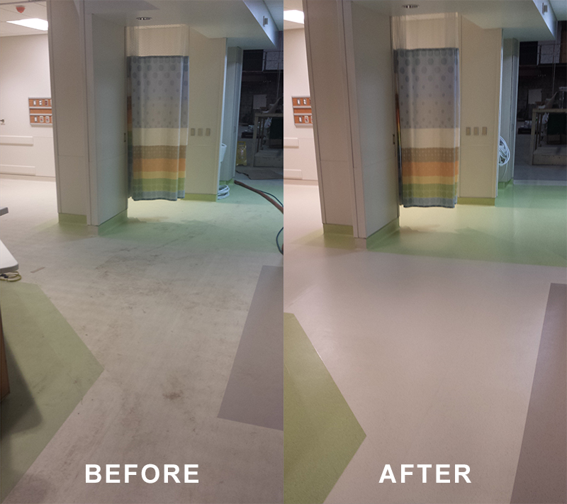 vct tile. v206 morning time. vct strip wax after. v205 so beige